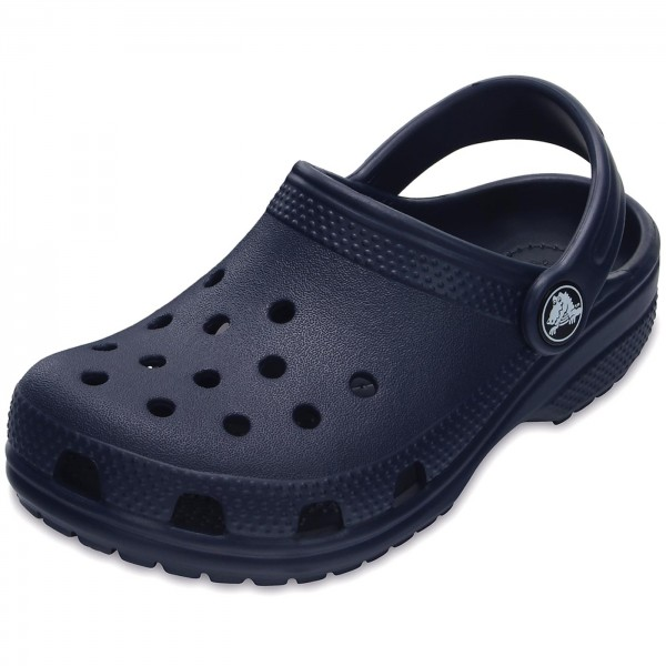 reputable site 79b0a e0633 Crocs Classic Kids Child Clogs navy