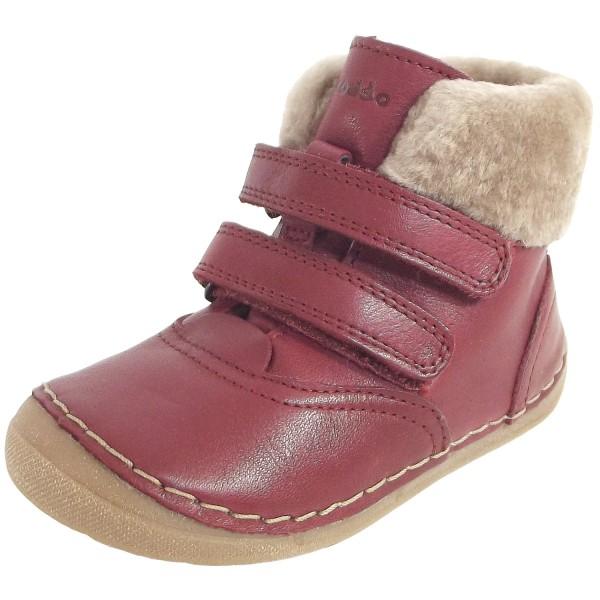 Girl Boots Sheepskin Bootee Bordeaux Walker Froddo First ZN0XwOP8kn