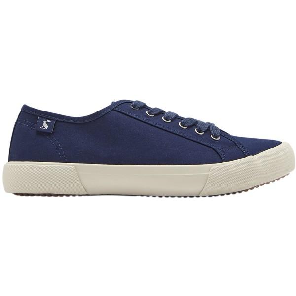 Tom Joule Coast Pump Damen Canvas-Sneaker dunkelblau (french navy)