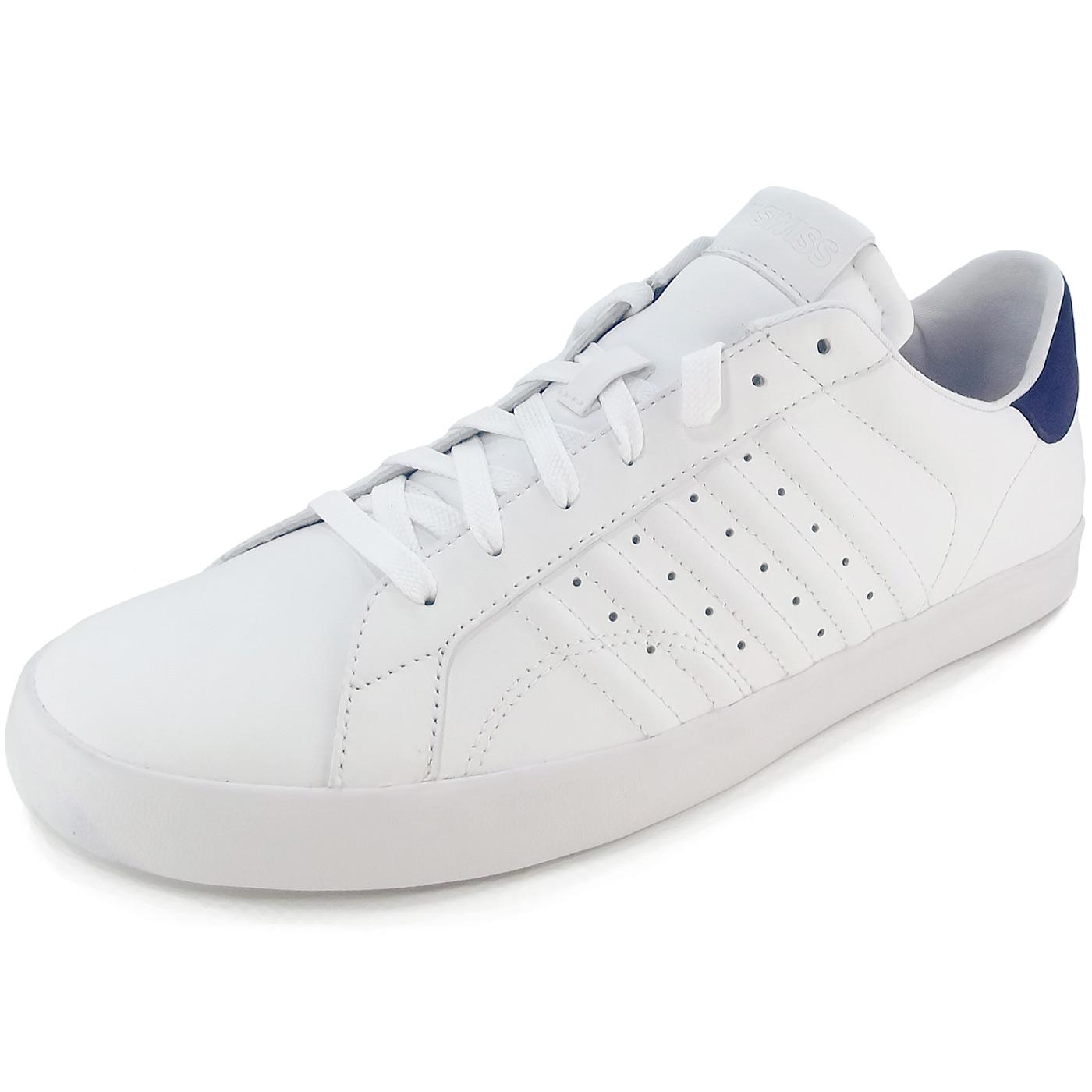 low priced 36f1b d0ca0 K-Swiss Belmont Men Sneakers white/navy