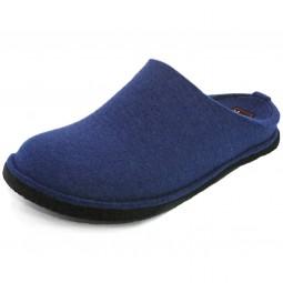 Haflinger Flair Soft Filz-Pantoffeln jeans