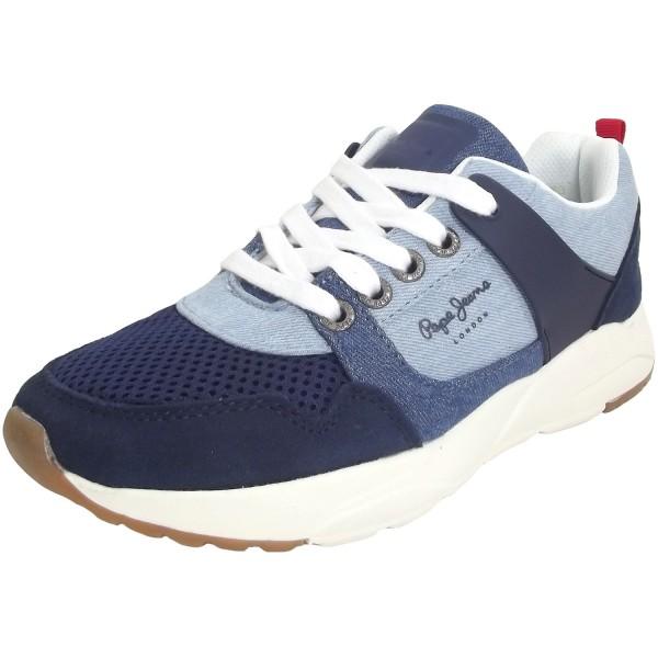 Pepe Jeans David Denim Kinder Sneakers blau (dk denim)