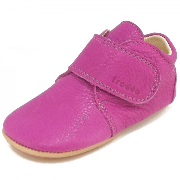 80b82e3a069 Froddo Prewalkers G1130005 Baby First Shoes pink (fuchsia) | Baby ...