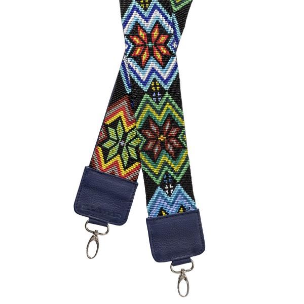 Ellamar Strap Damen Taschenriemen dunkelblau/silber