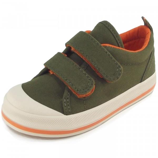Keds Graham Kinder Sneaker oliv/orange (green/orange)