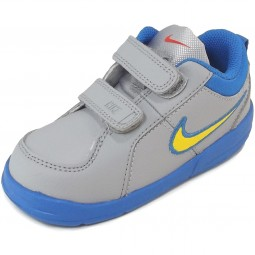 Nike Pico 4 Toddlers Infant Sport Shoes grey (wlfgry/tryllw)