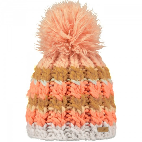 Barts Feather Beanie Damen Wintermütze oyster