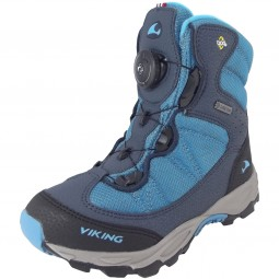 Viking Gore-Tex Boulder Boa GTX Kinder Winterstiefel blau/dunkelblau (blue/navy)