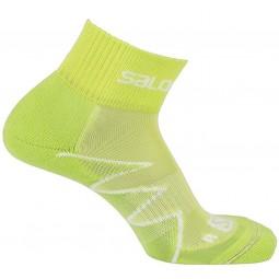 Salomon Citytrail Unisex Nachtlauf Socken geko green/yuzu yellow