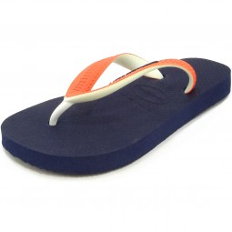 Havaianas Kids Top Mix Kinder Zehenstegsandale navy/orange neo