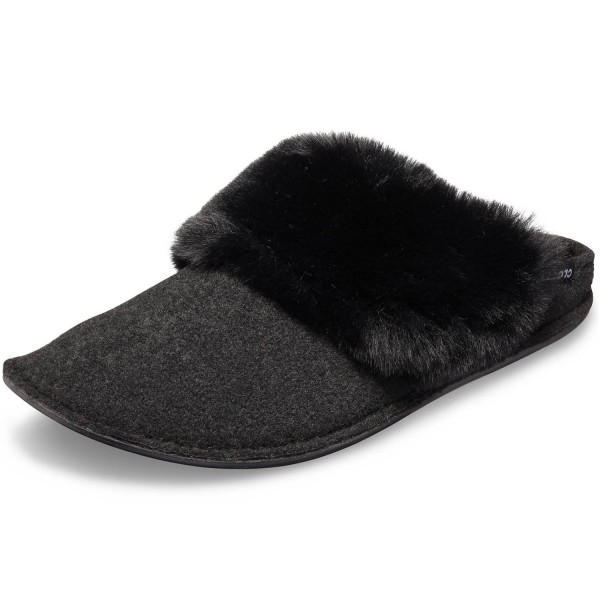 Crocs Classic Luxe Slipper Damen Hauspantoffeln schwarz (black)