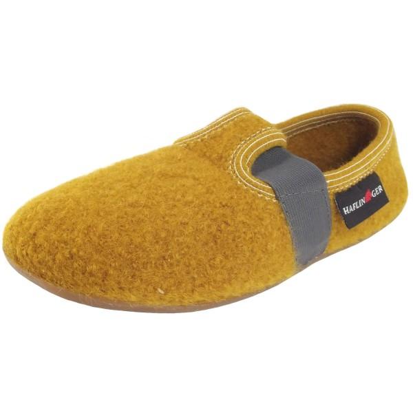 ac767ae639 Haflinger Everest Jonas Child Indoor Slippers yellow (senf)