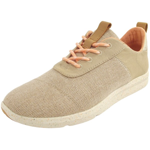 Toms Cabrillo Canvas Textured Twill Damen Sneakers beige (natural heritage)