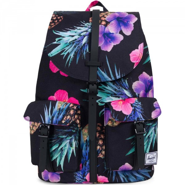 Herschel Dawson Backpack Damen Rucksack schwarz/floral (black/pineapple)
