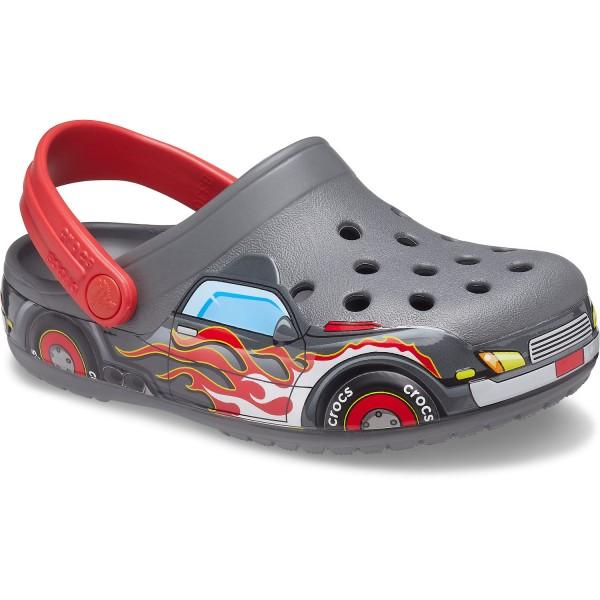 Crocs Fun Lab Truck Band Jungen Grafik Clogs Slate Grey