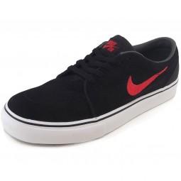 Nike Satire GS Skate-Sneaker schwarz/rot