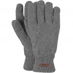 Barts Haakon Gloves Herren Wollhandschuhe grau (heather grey)