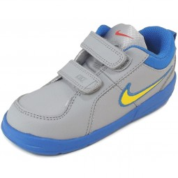 Nike Pico 4 Child Sport Shoes grey (wlfgry/tryllw)