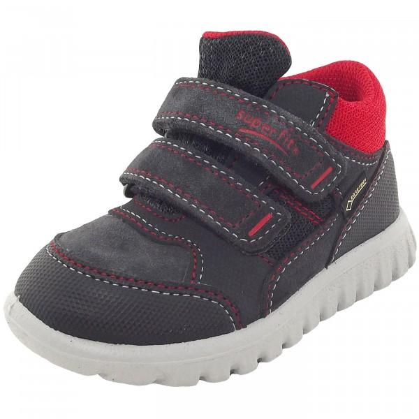 Superfit Gore-Tex Sport7 Mini Kinder Sneaker dunkelgrau/rot