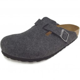 Birkenstock Boston Unisex Pantoffel anthracite
