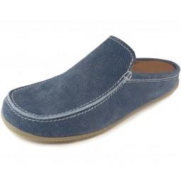 Living Kitzbühel 2746 Herren Pantoffel blau (jeans)
