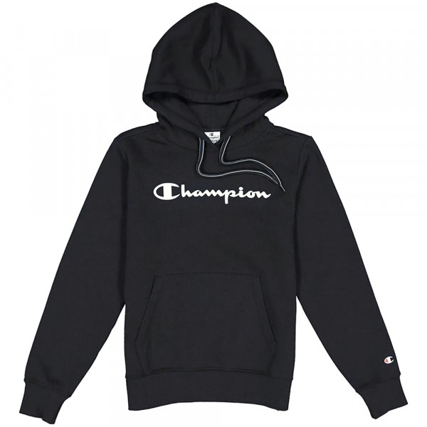 Champion Hooded Sweatshirt Damen Kapuzenpollover schwarz (nbk)