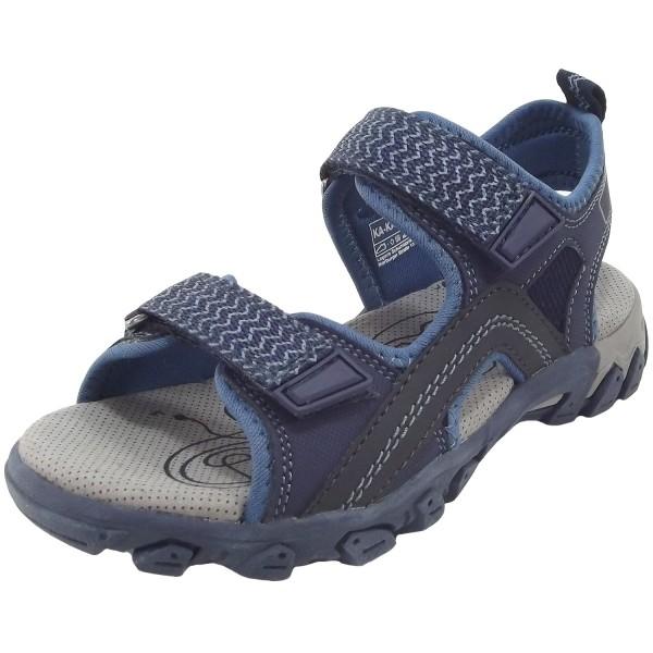 Superfit Hike Jungen Sandale blau