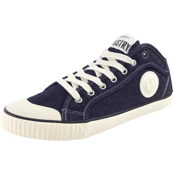 Pepe Jeans Industry Classic Herren Sneakers denimblau (dark denim)
