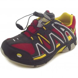 Conway Contex Simon Kinder Trekkingschuhe black/red/yellow