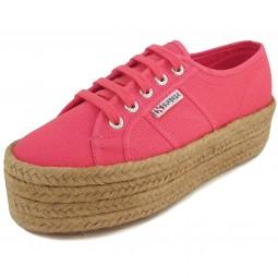 Superga 2790 CotRopeW Damen Sneaker paradise pink