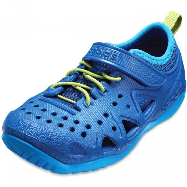 fcc0d41082e596 Crocs Swiftwater Play Shoe Kids Kinder Allround-Schuhe blau (blue jean)
