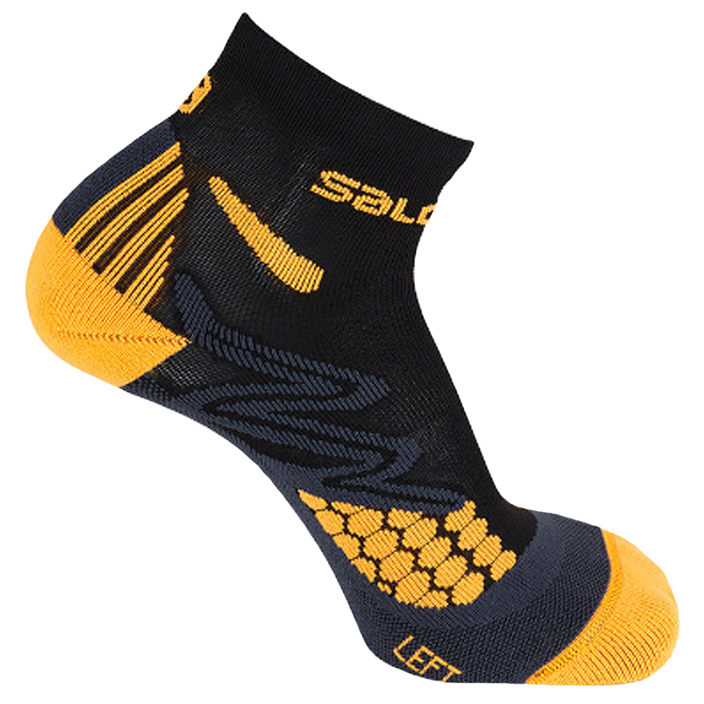 Pies suaves yo lavo mi ropa Pizza  Salomon XT Hawk Unisex Running Socks black/orange | Socks | Accessories |  Flux Online