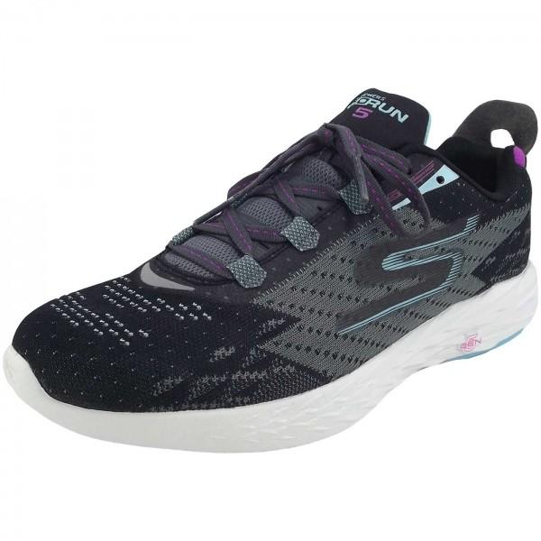 Skechers Gorun 5 Women Running Shoes Blackcharcoal Sneaker