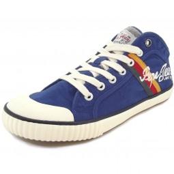 Pepe Jeans Industry Teen Herren Sneaker blau (prussian)