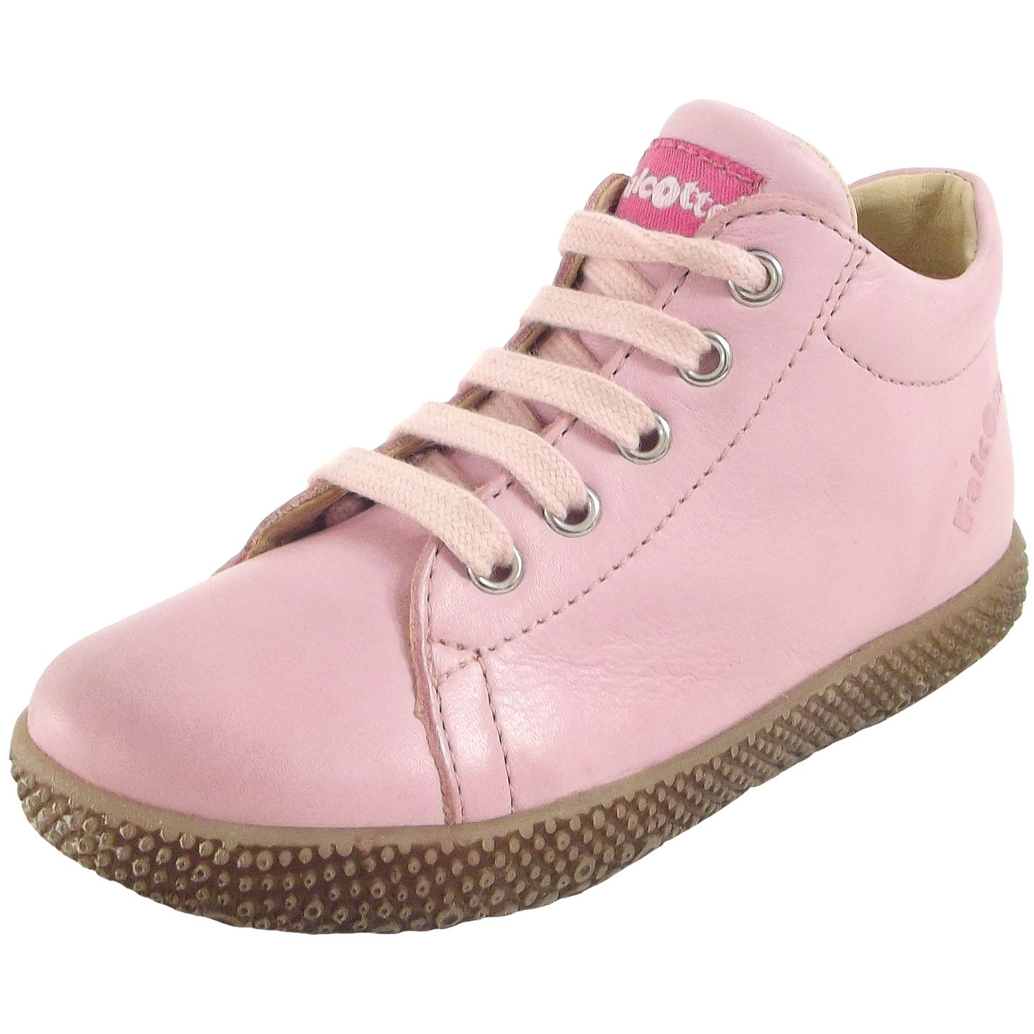 best loved faa17 6d9b5 Falcotto by Naturino Anemone Toddler Lace-Up Shoes rosa