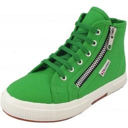 Superga 2795 CotJ Kinder Sneaker grün (island green)