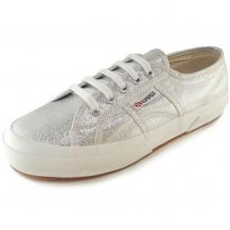 Superga 2750 Lamew Classic Damen Sneaker silber (silver)
