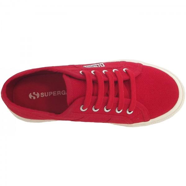 Superga 2750 Junior Cotu Classic Kinder Sneaker rot (red) 3