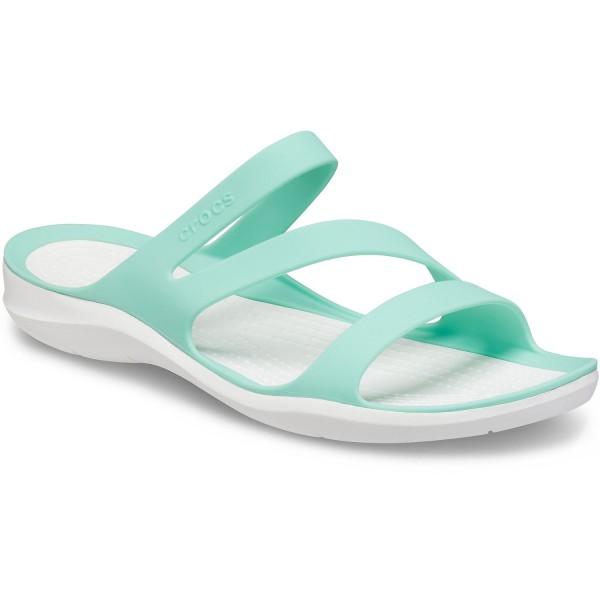 Crocs Swiftwater Sandal W Damen Pantoletten Pistachio