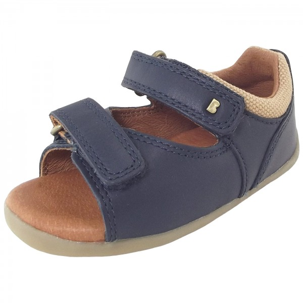 Step Walker First Bobux Up Sandal NavyBaby Toddler Driftwood 6y7bgYf
