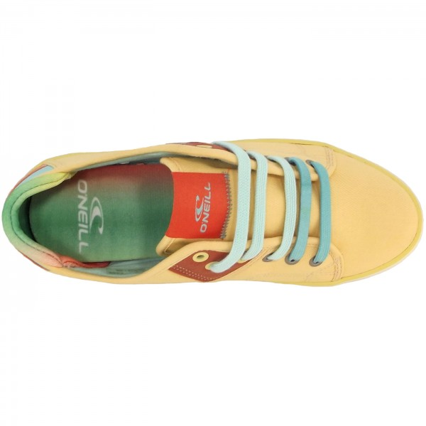 O'Neill Dally Low Junior Mädchen Sneaker gelb (sundown) 3