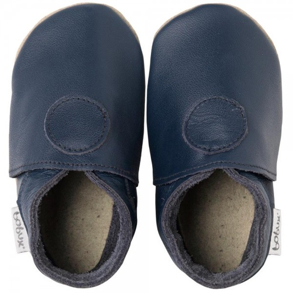 Bobux Classic Dot Baby Crawling Shoes marine   Baby - Crawling ...