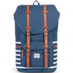 Herschel Little America Unisex Rucksack dunkelblau/gestreift (navy stripe)