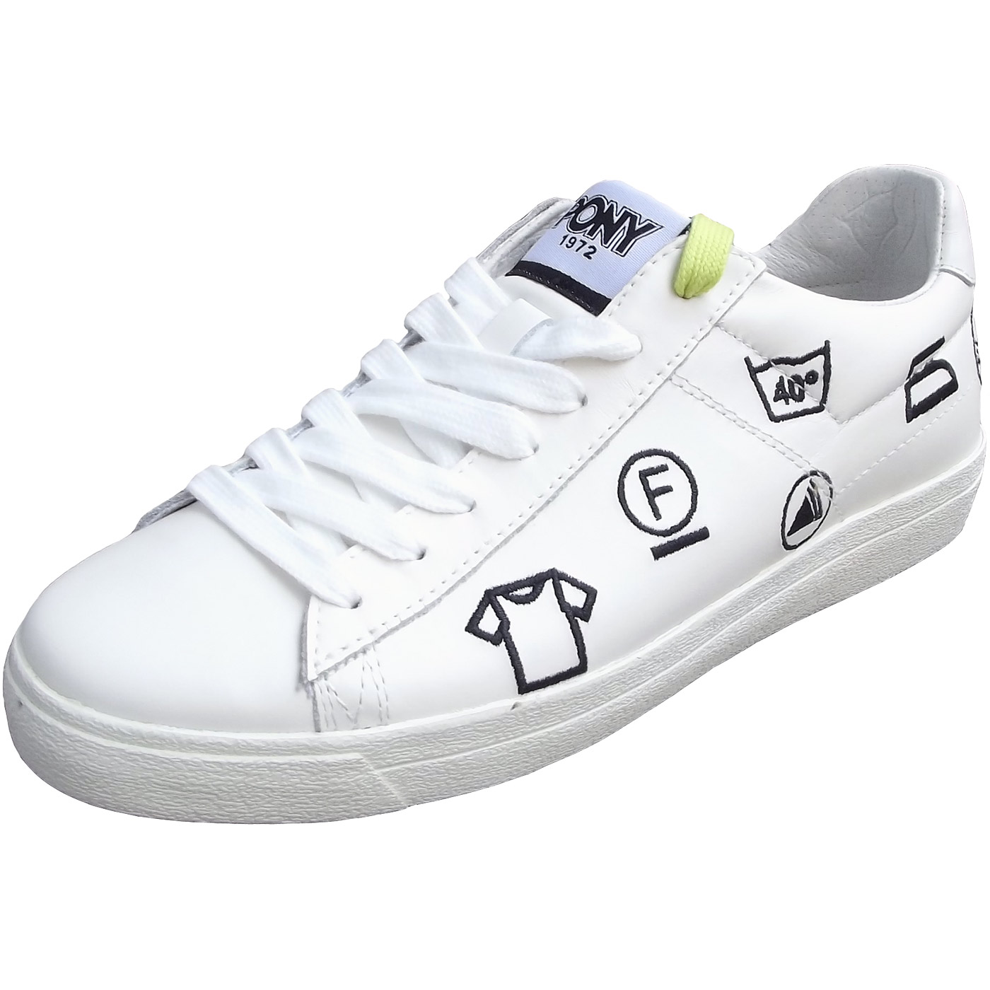 Pony Top Star Ox Women Sneakers white