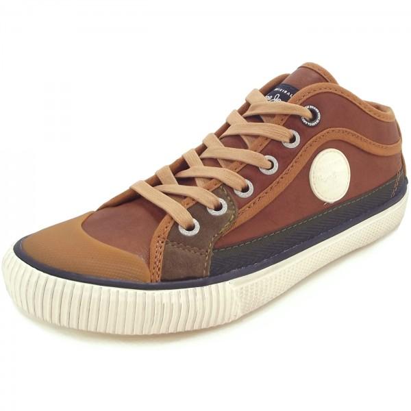 Pepe Jeans Industry Basic Boy Junior Sneaker tabakbraun (tobacco)