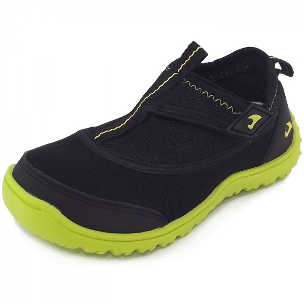 Viking Dolphin II Kinder Wasserschuhe black/lime
