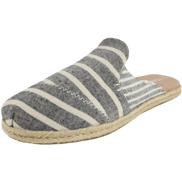 Toms Nova Stripes Wmn Women Slip On Espadrilles black cabana