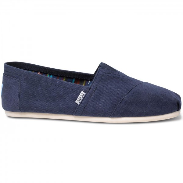 toms classic canvas mn herren espadrilles dunkelblau navy toms marken flux online. Black Bedroom Furniture Sets. Home Design Ideas