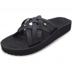 flip*flop Heaven Damen Pantolette schwarz (black)