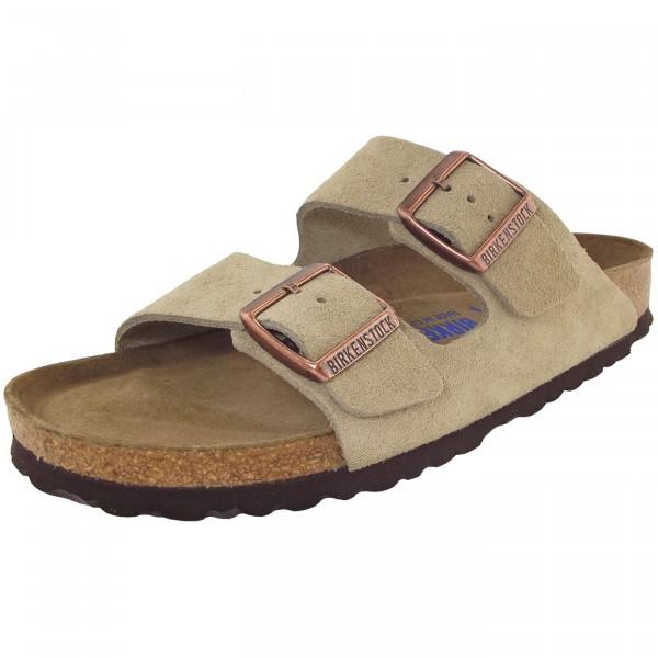 Birkenstock Arizona Weichbettung Damen Sandale taupe